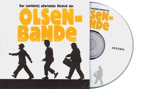 Presse CD zu - Der (wirklich) allerletzte Streich der Olsenbande -